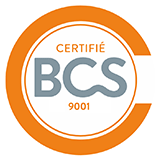 Certification ISO 9001 BCS